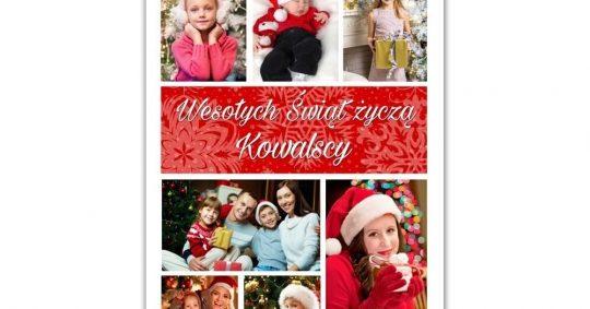 kartki świąteczne bożonarodzeniowe